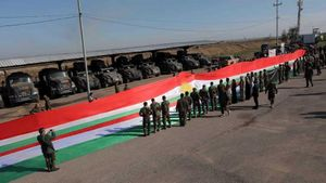 Mỹ viện trợ cho người Kurd ở Iraq lô vũ khí, trang bị trị giá 250 triệu USD trước khi rút quân