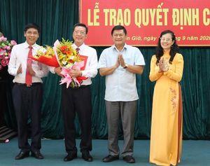 Bổ nhiệm lãnh đạo mới tại TP.HCM, Thanh Hóa, Thái Bình