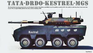 Xe tăng bánh lốp sẽ xuất hiện trong Quân đội Ấn Độ