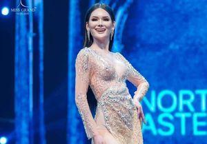 Á hậu Hòa bình Thái Lan trình diễn bikini theo kiểu lốc xoáy