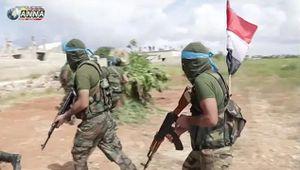 Đoạn phim diễn tập hiếm hoi của lực lượng tinh nhuệ nhất quân đội Syria
