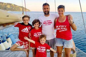Gia đình Italy bán nhà để chu du đại dương