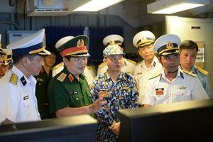 Bộ Tổng Tham mưu kiểm tra công tác phòng không lục quân tại Vùng 4 Hải quân
