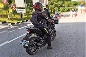 Yamaha Exciter 155 bị lộ ảnh chạy thử trên phố