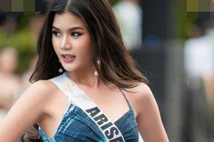 Thí sinh Hoa hậu Hoàn vũ Thái Lan 2020 tạo dáng với áo tắm
