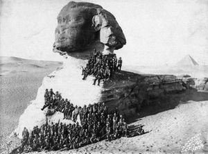 Bộ ảnh hiếm tượng Nhân sư nổi tiếng thế giới hàng trăm năm trước