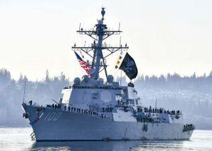 Vì sao tàu chiến hải quân Mỹ treo cờ cướp biển?