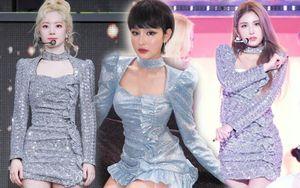 Hiền Hồ là người dưng với Somi và Dahyun nhưng sao váy của 3 nàng lại như 'có họ hàng' thế này?