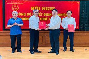 Ông Lê Bá Ngọc giữ chức Cục trưởng Cục Thuế Bắc Giang