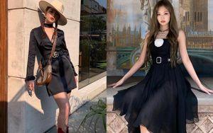 Loạt váy liền mùa thu đang được hội mỹ nhân Hàn Việt lăng xê