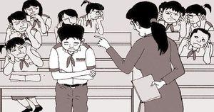Từ 1/11: Không phê bình học sinh trước trường, lớp