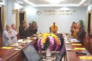 Ngày 25-10 : Học viện PGVN tại TP.HCM làm lễ tốt nghiệp