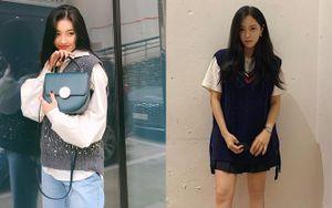 Instagram sao Hàn tuần qua: Chẳng hẹn mà gặp, Sunmi, Hyomin cùng lăng xê mốt áo gile len 'hot hit'