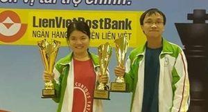 Vợ chồng Thảo Nguyên – Trường Sơn thắng lớn ở giải cờ vua toàn quốc