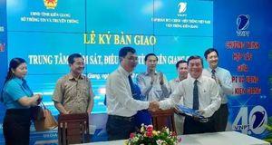 Kiên Giang khai trương Trung tâm giám sát an toàn, an ninh mạng và Điều hành thông tin