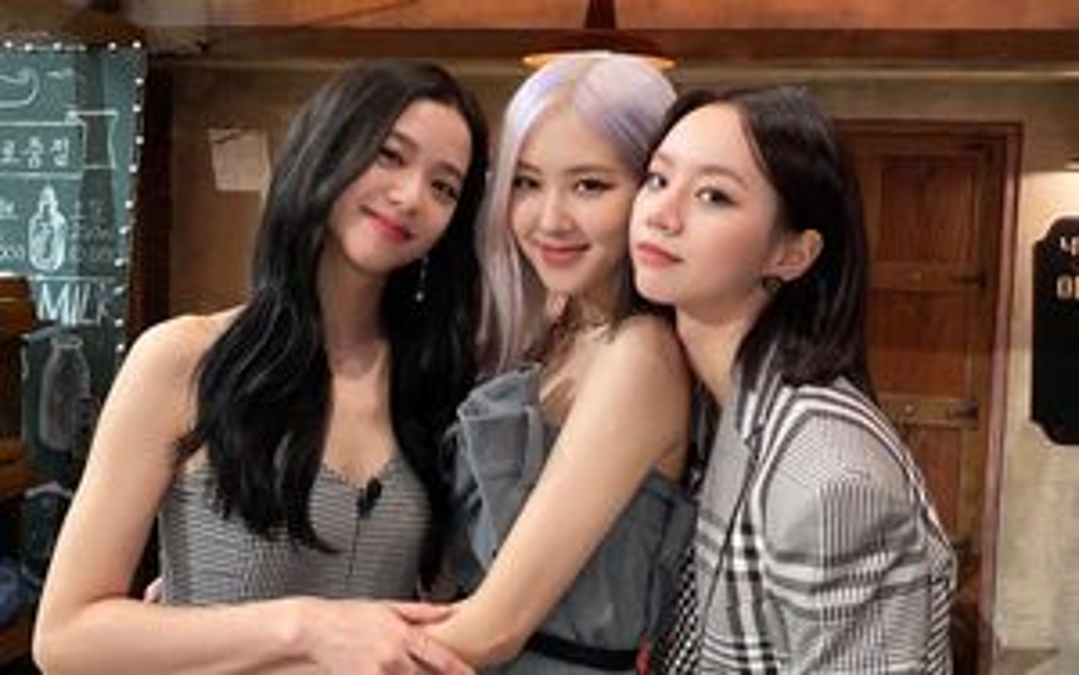 Rosé và Jisoo (BlackPink) đọ sắc cùng đàn chị Hyeri
