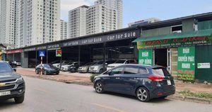 Hà Nội: 'Hô biến' bãi trông giữ ô tô thành nhà xưởng, cửa hàng