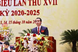 Nguyên Giám đốc Sở Xây dựng Vĩnh Phúc được bầu làm Phó Bí thư Tỉnh ủy nhiệm kỳ 2020-2025