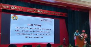 Thu kinh phí Công đoàn qua tài khoản Công đoàn Việt Nam mở tại Agribank