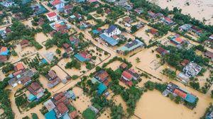 Quảng Bình: Nước lụt nhiều nơi phá vỡ kỷ lục năm 2010 và chưa có dấu hiệu dừng lại