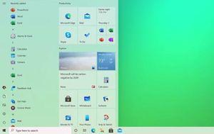 Tin tức công nghệ mới nhất ngày 21/10: Bản cập nhật Windows 10 với menu Start được nâng cấp