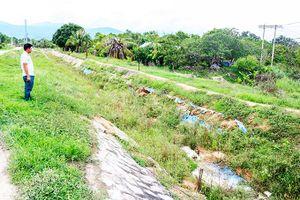 Công trình Hồ chứa nước Cam Ranh: Kênh chính nam sẽ được nâng cấp