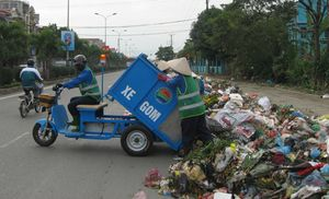 Lập phương án lưu chứa rác tạm thời trên địa bàn Hà Nội