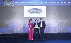 Vinamilk được bình chọn: Nơi làm việc tốt nhất Việt Nam 2020