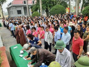 Vĩnh Phúc: Phường Hội Hợp (TP Vĩnh Yên) ủng hộ 450 triệu đồng ủng hộ đồng bào miền Trung
