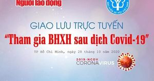 Giao lưu trực tuyến 'Tham gia BHXH sau dịch Covid-19'