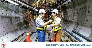 Máy đào hầm TBM của Đức sẽ khoan đường hầm hơn 4,5km tuyến metro Nhổn-ga Hà Nội