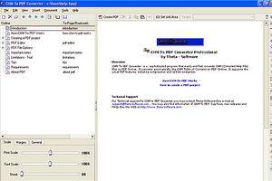 Chuyển đổi files CHM sang PDF với CHM To PDF Converter