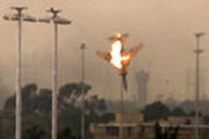 Máy bay liên quân tiến vào Libya