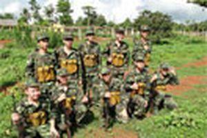 Quân khu 7 làm trại hè cho học sinh