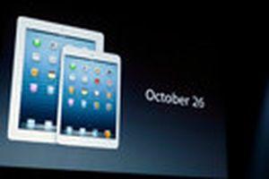 iPad Mini chỉ sử dụng bộ sạc 5 watt ?