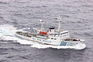 Trung Quốc tăng cường tàu hải giám