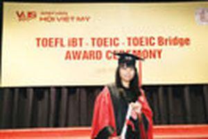 Thêm một học sinh Việt Nam đạt trên 100 điểm Toefl iBT