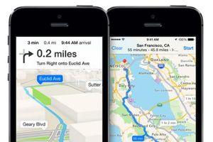 Apple Maps đang dần chiếm vị thế của Google Maps?