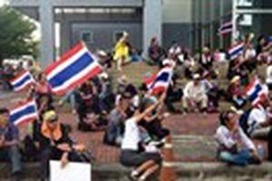 Tường thuật của PV Thanh Niên từ Thái Lan: Người biểu tình chiếm giữ trung tâm hành chính