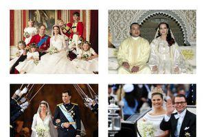 Ngưỡng mộ những đám cưới hoàng gia đậm chất cổ tích