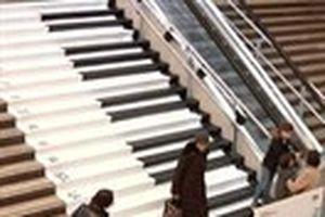 Cầu thang... piano