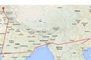 Hành trình phiêu bạt của 'Thánh phượt' Vừ Già Pó: 18 tháng và hơn 7.000 km đi bộ