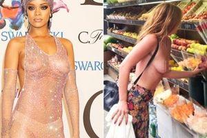 Sao nữ để ngực trần không đơn thuần là thú chơi ngông?