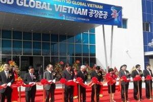 Khánh thành dự án gần 20 triệu USD tại KCN Đại An