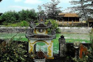 Huyền tích ngôi đền thiêng báo mộng cho Vua Hàm Nghi
