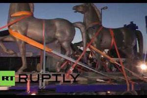 Tìm thấy báu vật ngựa đồng, biểu tượng sức mạnh của Hitler