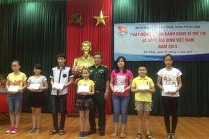 BĐBP Đà Nẵng phát động tháng hành động vì trẻ em và Ngày gia đình Việt Nam