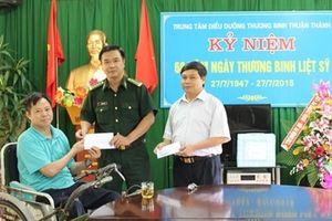 Bộ Tư lệnh BĐBP thăm hỏi, động viên và tặng quà cho các thương, bệnh binh
