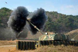 Hàn Quốc dùng pháo tự hành K9 đáp trả Triều Tiên?