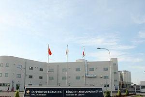 Vinataba bán toàn bộ cổ phần trong Liên doanh bia Sapporo ở Long An